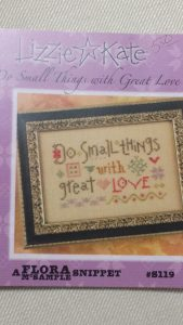 Do Small Things With Great Love by Lizzie Kate